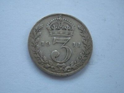 1911 - 1936 George V Silver Threepennies - Choose Your Date - Uk Post Free