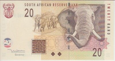 South Africa Banknote P124b 20 Rand Sig 8 (1999), UNC