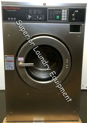 Sd Queen Sc30bc2 Washer Extractor 30lb Coin 220v Reconditioned