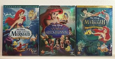 The Little Mermaid Trilogy (Little Mermaid, Ariels Beginning, Return to Sea) DVD
