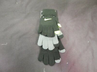 Brand New Nike Youth Boys Glove 3 Pack Touch Screen Fingertips