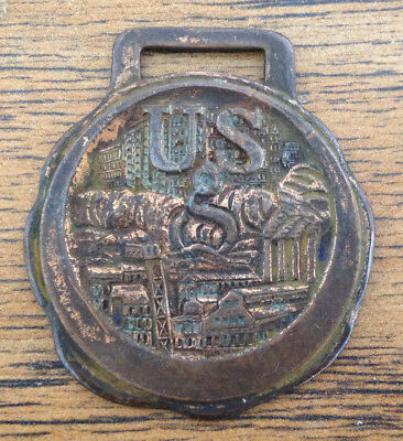 Vintage U.S. United States Gypsum Co. Service Recognition Award FOB