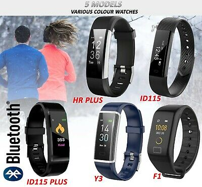 Smart Bluetooth Fit Watch Fitness Tracker bit Bracelet Band For iPhone Sports uk
