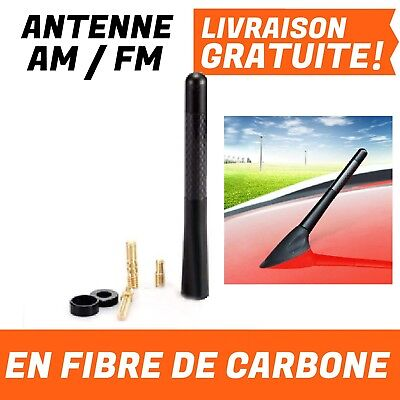 Antenne AM FM Carbone Voiture Ford Focus 2 3 Opel Peugeot 206 207 307 308 408 50