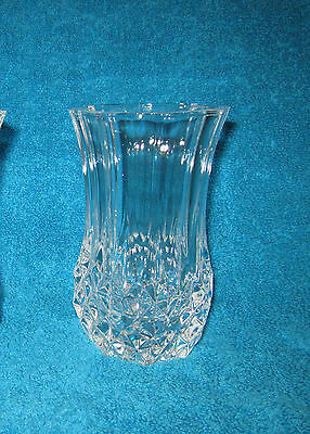 Cristal D'arques Longchamp Vase 5 Inches Tall 3 Inches Diameter