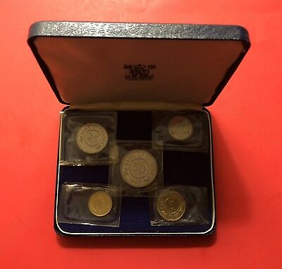 Guyana 1967 - 5 Coins Proof Set In Otiginal Box-Sealed Royal Mint