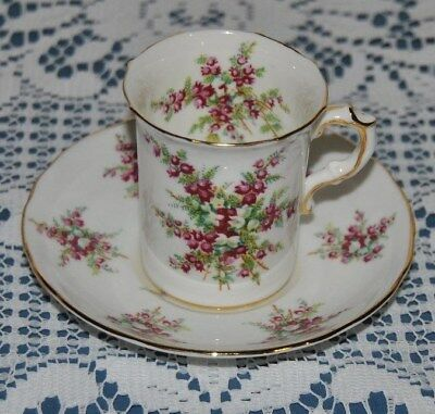 Beautiful Vintage Circa 1939, Hammersley, Demitasse, Bone China Cup And Saucer