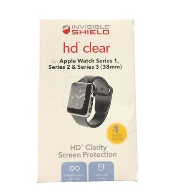 ZAGG Invisible Shield HD Clear for Apple Watch Series 1 / 2 / 3 (38mm) IS3