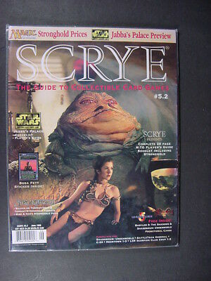 SCRYE #5.2 June 1998 with Promo Cards Star Wars Cover, Stronghold Players Guide