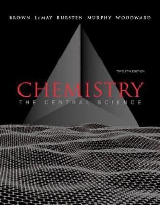 EBOOK The Central Science: Chemistry 12th Edition Brown LeMay Bursten Murphy