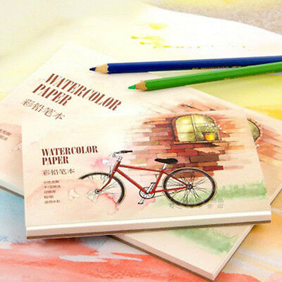 12 Sheets Watercolor Paper Sketchbook Set for Watercolor Drawing Sketchbook USA