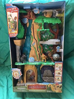 Disney The Lion Guard Training Lair Playset NEW IN BOX nib