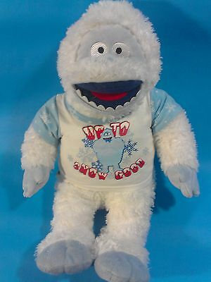 """Bumble the ABOMINABLE SNOW MONSTER Large Plush Stuffed Animal RUDOLPH Friend 17"""""""
