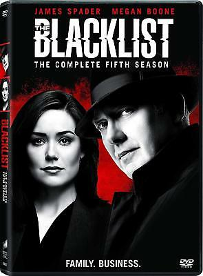 The Blacklist: Season 5 Fifth (DVD, 2018, 5-Disc Set), NEW. Free shipping