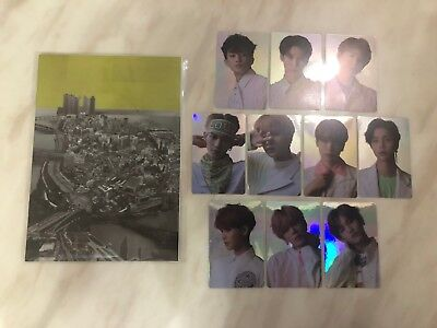 NCT NCT127 COEX SUM GOODS Regular Irregular HOLOGRAM STICKER PHOTOCARD