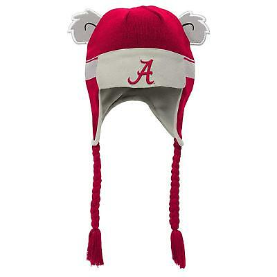 official photos 9a527 c3e37 Alabama Crimson Tide NCAA Toddler Youth 4-7 Knit Tassel Trapper Beanie Hat