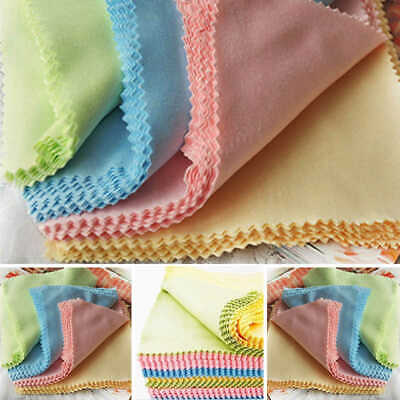 10x Microfiber Cleaner Cleaning Cloth For Phone Screen Camera Lens Eye Glasses #