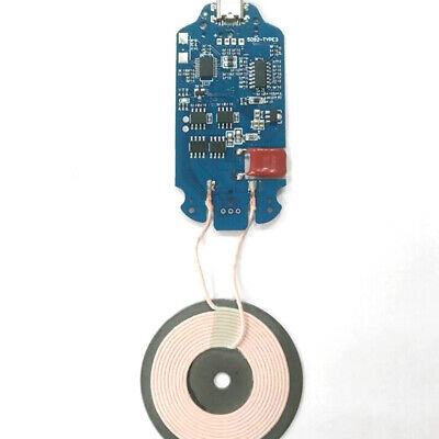 10W QI Fast Wireless Charger Transmitter Module PCBA Circuit Board With Coil US