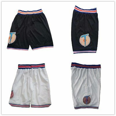Space Jam Basketball Shorts Bugs TAZ Murray Lola D.DUCK Tweety Tune Squad Jersey