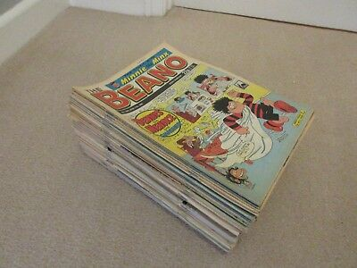 BEANO COMICS x 95- From 1989-1992, Good/very good condition- Dandy