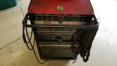 Lincoln Square Wave 355 Ac/dc Tig Welder Water Cooled