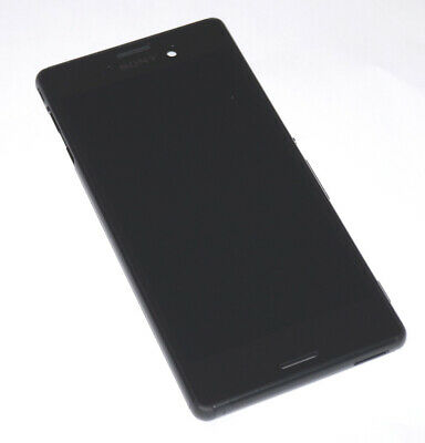Original Sony Xperia M4 Aqua E2353 LCD Display Touchscreen Housing Black