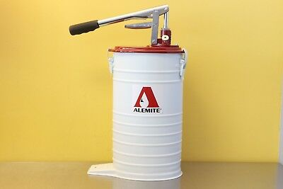 Alemite 7181-4 Portable High Volume Oil Grease Manual Bucket Pump 500 PSI