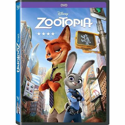 ZOOTOPIA DVD - Brand New!!