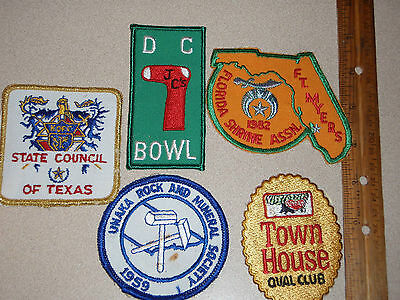 Vintage Knights Of Columbus Texas Council1960's        One   Patch Auction Bxe28