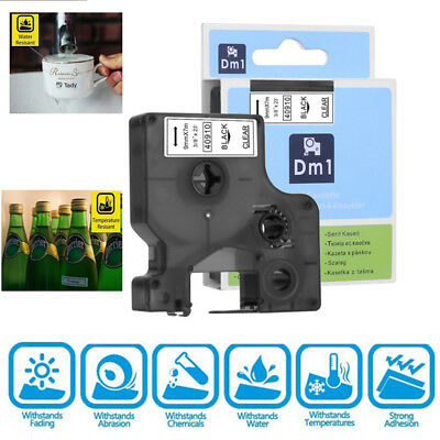 Compatible for DYMO D1 12mm Label Tape Label Manager Office Ribbon  40910 40913