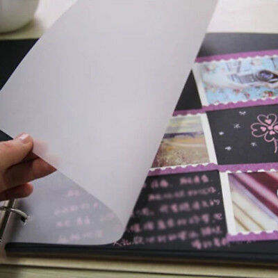 100PCS Tracing Paper Translucent Calligraphy Craft Copying Drawing Card Making