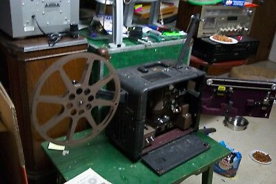 OLD  BELL & HOWELL Film o sound 179 16mm  Film Projector   needs lube