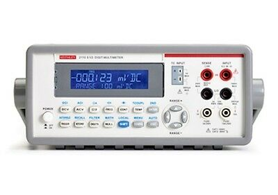 (New) Keithley 2110-220-GPIB Digital Multimeter, 5.5-Digit, Dual-Display, 220V,