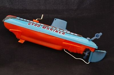 Gyro Mariner / Spielzeug / U-Boot Submarine / 1960´s / Made in Hong Kong