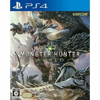Monster Hunter World (PS4) BRAND NEW *fast delivery* CHEAPEST
