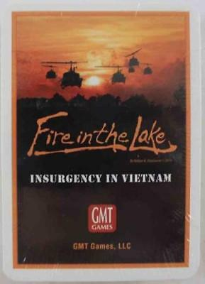 GMT Wargame Fire in the Lake - Card Deck Zip SW