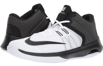 purchase cheap 223ee b59f5 Nike Air Versatile II Basketball Shoes White Black Grey 921692-100  75 Mens  12