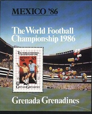 Grenada-Grenadines MNH Sc 776 Worls Soccer Cup Souvenir sheet