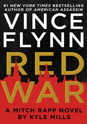 Red War A Mitch Rapp Novel V.Flynn [Electronic Book] Instant Delivery