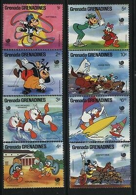 Grenada-Grenadines MNH Sc 939-46 Disney Value $ 12.25  US $$