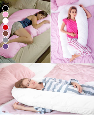 12ft or 9ft U Shaped Support Pillow Best Large Maternity Pregnancy Comfort Body