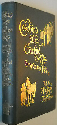 Coaching Days and Coaching Ways by W. Outram Tristram (1893, illustrated)