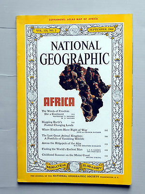NATIONAL GEOGRAPHIC MAGAZINE September 2010 King Tut's DNA INSECT