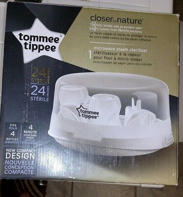 Tommee Tippee Closer To Nature Microwave Steam Bottle Sterilizer
