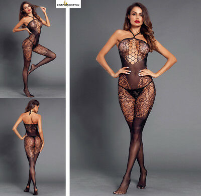 Hot Reizwäsche Fishnet Body Stocking Catsuit Netz Body Unterwäsche |H| 79993-2