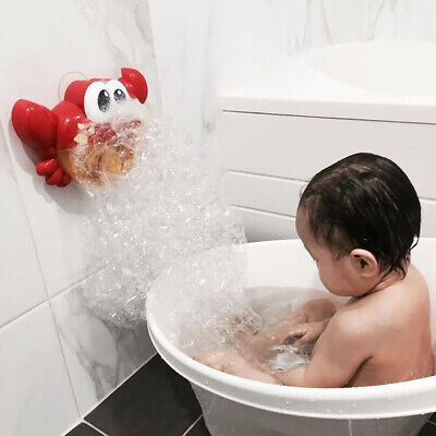 Bubble Maker Machine Bubble Crab Musical Automatic Toy for Baby Bath
