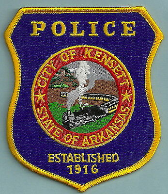 Kensett Arkansas Police Patch Locomotive