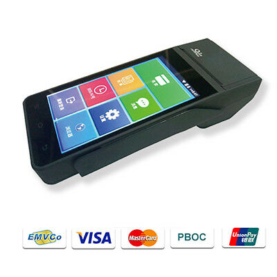 Z90 3-in-1 Magnetic/IC/NFC Card Reader Handheld Android POS Terminal+free SDK