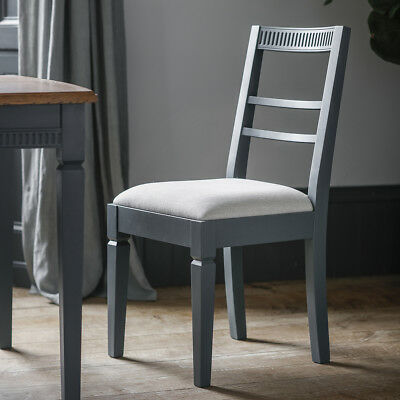 Gallery Direct Bronte Dining Chair Storm (2pk)
