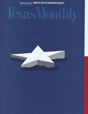 Texas Monthly October 2017 How We Defied Hurricane Harvey Free Shipping!